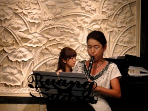 ピアノ&クラリネット